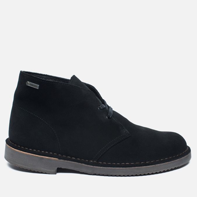 Мужские ботинки Clarks Originals Desert Boot Gore-Tex Suede Black
