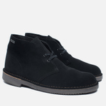 Мужские ботинки Clarks Originals Desert Boot Gore-Tex Suede Black фото- 2