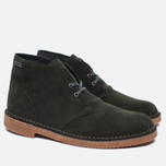 Мужские ботинки Clarks Originals Desert Boot Gore-Tex Suede Loden Green фото- 2