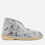 Мужские ботинки Clarks Originals Desert Boot Graphic Pack Suede Multicolour фото- 0