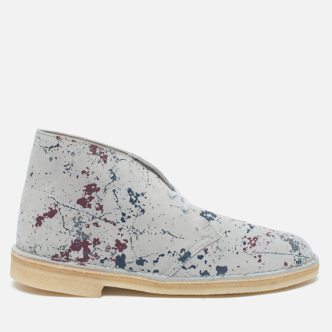 Мужские ботинки Clarks Originals Desert Boot Graphic Pack Suede Multicolour