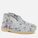 Мужские ботинки Clarks Originals Desert Boot Graphic Pack Suede Multicolour фото- 2