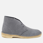 Мужские ботинки Clarks Originals Desert Boot Grey/Blue фото- 0