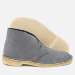 Мужские ботинки Clarks Originals Desert Boot Grey/Blue фото- 2