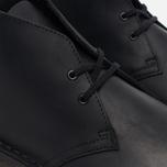 Мужские ботинки Clarks Originals Desert Boot Leather Black Smooth фото- 2