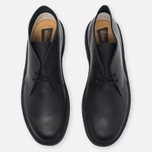 Мужские ботинки Clarks Originals Desert Boot Leather Black Smooth фото- 4