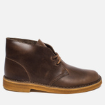Мужские ботинки Clarks Originals Desert Boot Leather Camel фото- 0