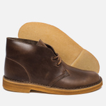 Мужские ботинки Clarks Originals Desert Boot Leather Camel фото- 1