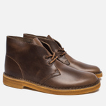 Мужские ботинки Clarks Originals Desert Boot Leather Camel фото- 2