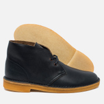 Мужские ботинки Clarks Originals Desert Boot Leather Petrol Blue фото- 1