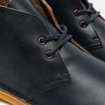 Clarks Originals Desert Boot Leather Petrol Men's Shoes Blue Lea photo- 3