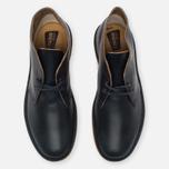 Clarks Originals Desert Boot Leather Petrol Men's Shoes Blue Lea photo- 4