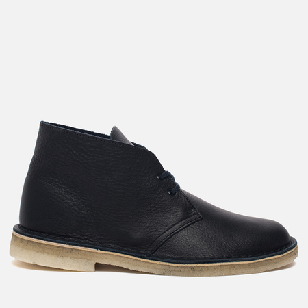 Мужские ботинки Clarks Originals Desert Boot Navy Tumbled Leather