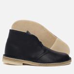 Мужские ботинки Clarks Originals Desert Boot Navy Tumbled Leather фото- 1