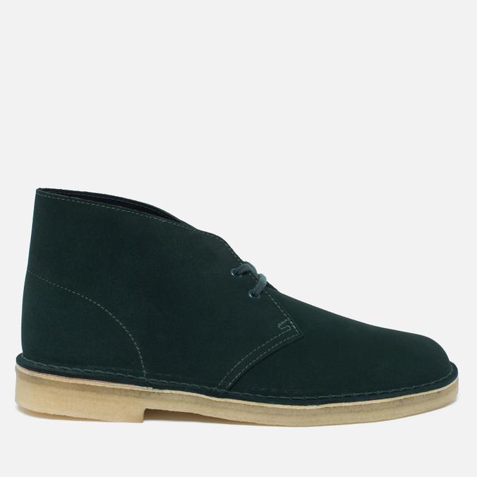 Мужские ботинки Clarks Originals Desert Boot Suede Dark Green