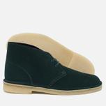 Мужские ботинки Clarks Originals Desert Boot Suede Dark Green фото- 1