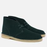 Мужские ботинки Clarks Originals Desert Boot Suede Dark Green фото- 2
