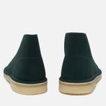Мужские ботинки Clarks Originals Desert Boot Suede Dark Green фото- 3