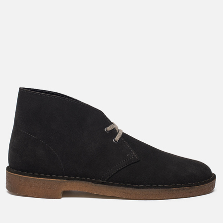 Мужские ботинки Clarks Originals Desert Boot Suede Dark Grey