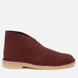 Clarks Originals Desert Boot Suede Nut Men's shoes Brown photo- 0