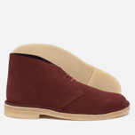 Clarks Originals Desert Boot Suede Nut Men's shoes Brown photo- 1