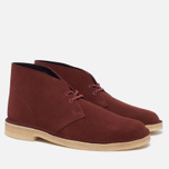 Clarks Originals Desert Boot Suede Nut Men's shoes Brown photo- 2