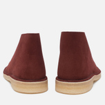 Clarks Originals Desert Boot Suede Nut Men's shoes Brown photo- 3