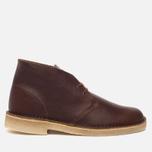 Мужские ботинки Clarks Originals Desert Boot Tan Tumbled Leather фото- 0