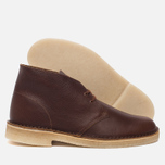 Мужские ботинки Clarks Originals Desert Boot Tan Tumbled Leather фото- 1