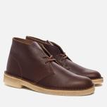 Мужские ботинки Clarks Originals Desert Boot Tan Tumbled Leather фото- 2