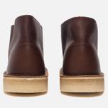 Мужские ботинки Clarks Originals Desert Boot Tan Tumbled Leather фото- 3