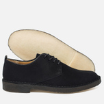 Clarks Originals Desert London Men's Shoes Black Suede photo- 2