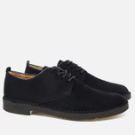 Clarks Originals Desert London Men's Shoes Black Suede photo- 1