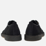 Clarks Originals Desert London Men's Shoes Black Suede photo- 3