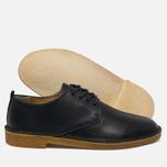 Clarks Originals Desert London Leather Men's Shoes Dark Navy photo- 1
