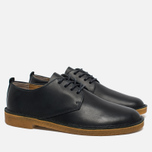 Clarks Originals Desert London Leather Men's Shoes Dark Navy photo- 2