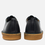 Clarks Originals Desert London Leather Men's Shoes Dark Navy photo- 5