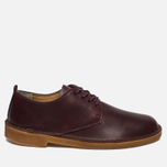 Мужские ботинки Clarks Originals Desert London Leather Nut Brown фото- 0