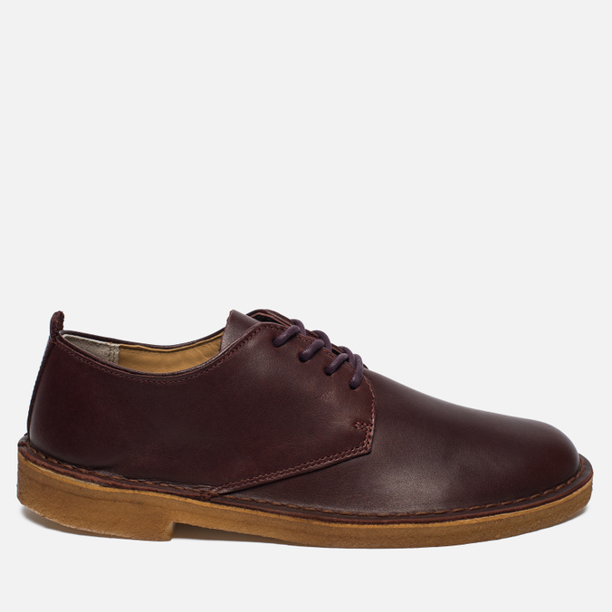 Мужские ботинки Clarks Originals Desert London Leather Nut Brown