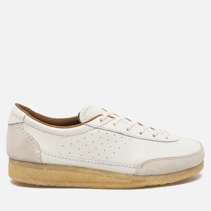 Мужские ботинки Clarks Originals Torcourt Super Leather White