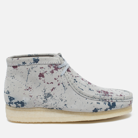 Мужские ботинки Clarks Originals Wallabee Graphic Pack Suede Multicolour