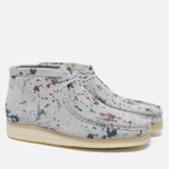 Мужские ботинки Clarks Originals Wallabee Graphic Pack Suede Multicolour фото- 1