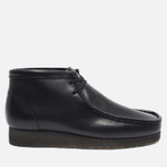 Мужские ботинки Clarks Originals Wallabee Leather Black фото- 0