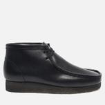 Clarks Originals Wallabee Leather Men's shoes Black photo- 0