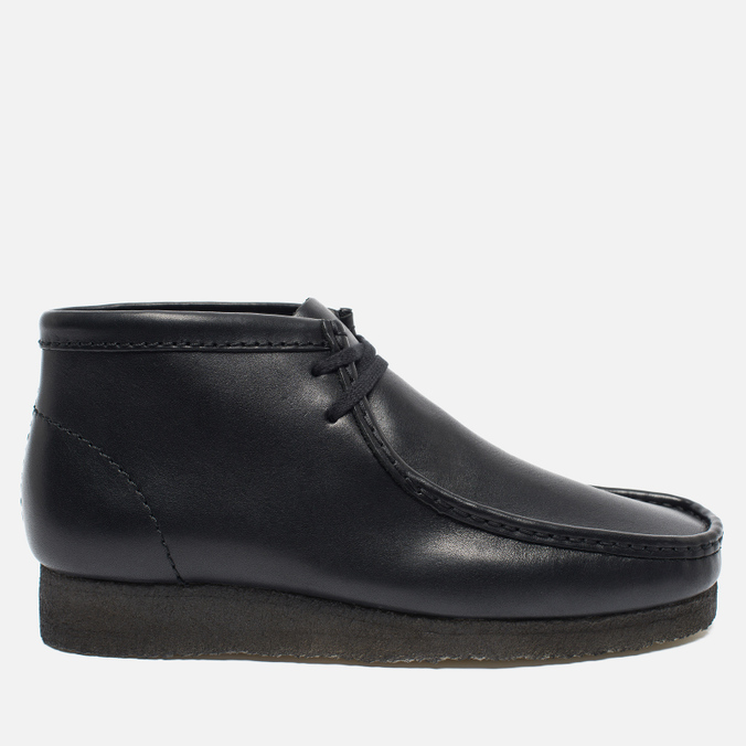 Мужские ботинки Clarks Originals Wallabee Leather Black
