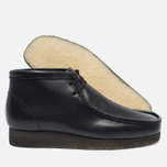 Мужские ботинки Clarks Originals Wallabee Leather Black фото- 1