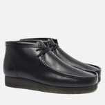 Мужские ботинки Clarks Originals Wallabee Leather Black фото- 2