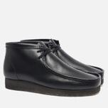 Clarks Originals Wallabee Leather Men's shoes Black photo- 2