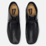 Мужские ботинки Clarks Originals Wallabee Leather Black фото- 4