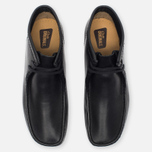 Clarks Originals Wallabee Leather Men's shoes Black photo- 4